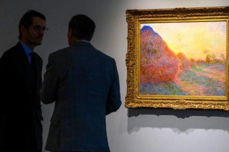 'Meules' de Monet marca un nuevo récord para una obra impresionista