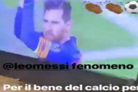 Descomunal palo de Balotelli a Cristiano tras el golazo de Leo Messi