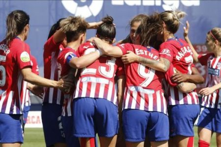 El Atlético, campeón de la Liga Iberdrola por tercera temporada consecutiva