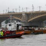 El hundimiento de un barco turístico en Budapest deja al menos 7 muertos y 21 desaparecidos