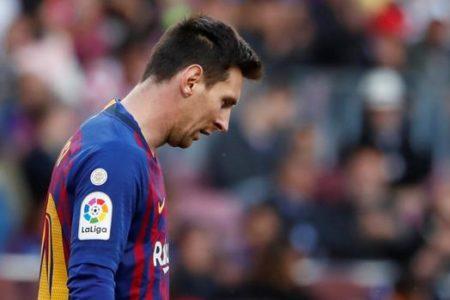 El fiasco en Europa aún amarga a Messi
