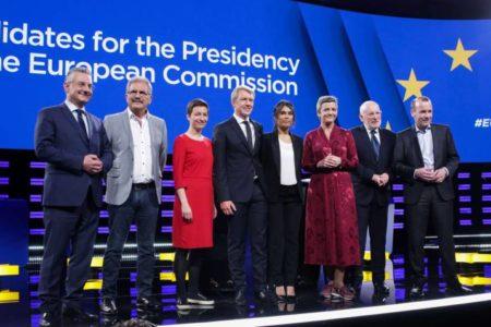 Los candidatos a presidir la Comisión Europea chocan por sus planes para refundar la UE