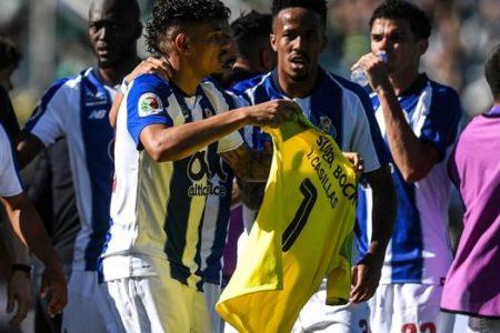 La emotiva dedicatoria del Oporto a Casillas en la final de Copa que perdieron ante el Sporting