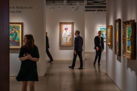 Sotheby's tira los muros: 8.400 metros cuadrados de arte gratuito en el centro de Nueva York