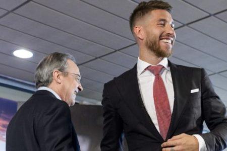 Florentino Pérez-Sergio Ramos, 14 años de padre-hijo