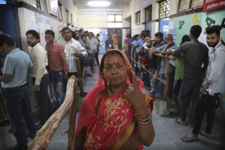 El voto de la mujer india importa
