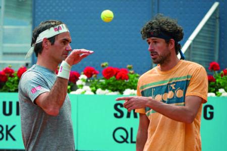 Sparrings, los tenistas versátiles