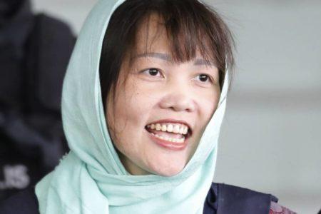 Malasia libera a la vietnamita acusada de la muerte de Kim Jong-nam
