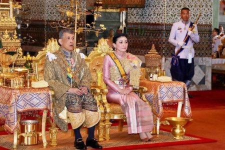 La extravagante coronación del poderoso rey de Tailandia