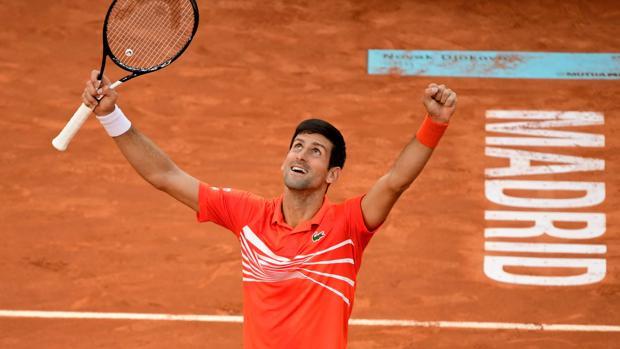 Así queda el ranking ATP tras la victoria de Djokovic en el Mutua Madrid Open