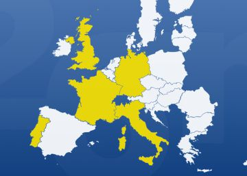Cinco países ante las elecciones europeas