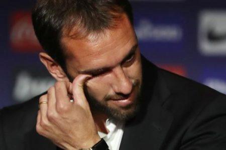 Godín: «Me hubiera quedado en el Atlético hasta los 40 años»