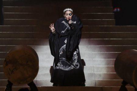 Madonna en Eurovisión: la gran estrella pierde fuelle