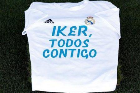 El Bernabéu homenajea a Íker Casillas después de su infarto