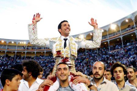 David de Miranda entusiasmó a Las Ventas