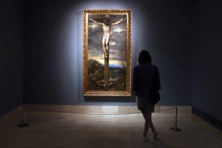 El Cristo de Tiziano vuelve a El Escorial