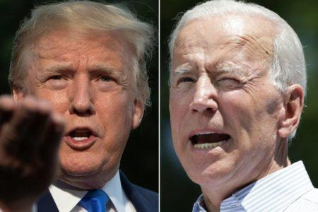 Trump y Biden trasladan la polarización que vive EE UU a la precampaña