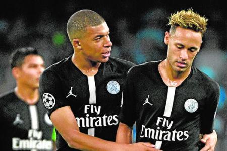 El mensaje de apoyo de Mbappé a su «hermano» Neymar