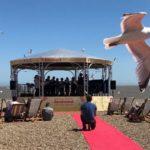 El mar de Aldeburgh se llena de música y poesía