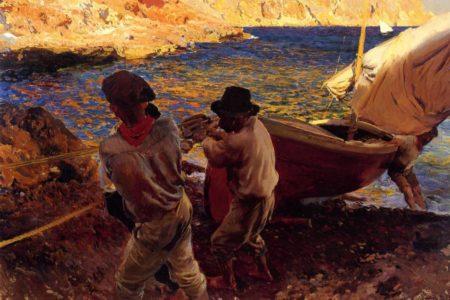Un tribunal prohíbe exportar un 'sorolla' a la familia del pintor