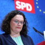Dimite la líder de los socialdemócratas alemanes tras la caída del SPD en las elecciones europeas