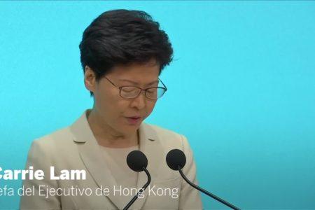 Lam se aferra al cargo e indigna aún más a los manifestantes en Hong Kong