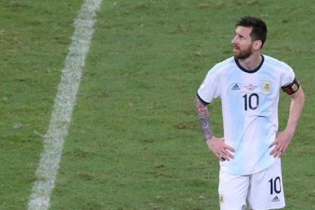 Messi y Argentina vuelven a estrellarse