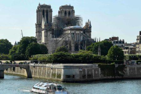 Notre Dame celebrará este fin de semana su primera misa tras el incendio