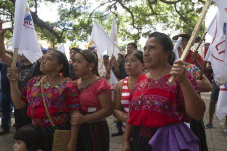 Las candidaturas de mujeres marcan las presidenciales de Guatemala