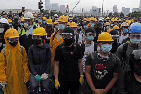 Los manifestantes en Hong Kong mantienen el pulso con la convocatoria de otra protesta para este domingo