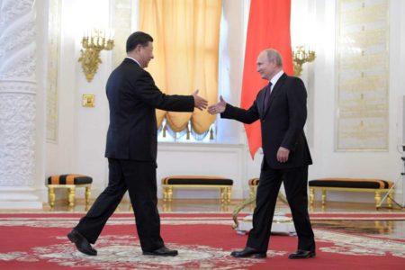 """Rusia y China impulsan su relación bilateral a un nivel """"sin precedentes"""", según Putin"""