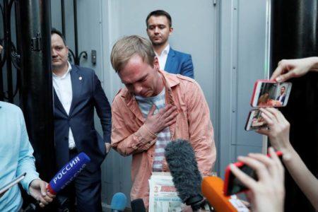 """Rusia cierra el caso contra el periodista Ivan Golunov por """"falta de pruebas"""""""