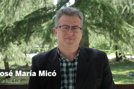 """José María Micó: """"La novela lleva muriendo toda la vida, como la poesía"""""""